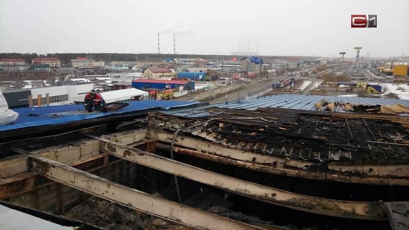 ВСургуте вТЦ «Богатырь» из-за пожара эвакуировали людей