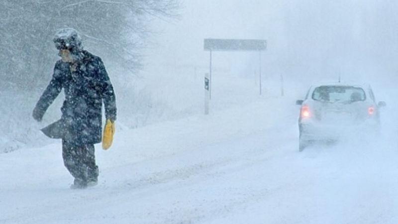 Внимание! Завтра в Югре ожидаются сильный снег, метель, усиление ветра!