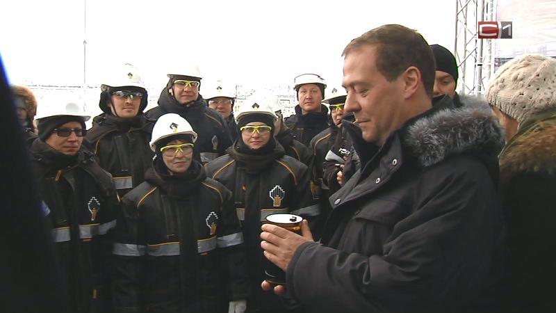 Нужен баланс интересов нефтяников ибюджета вналогообложении— Медведев