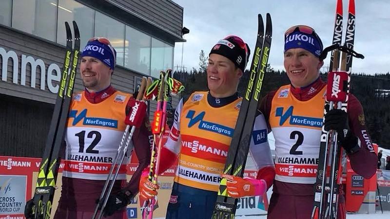 Лыжник Устюгов стал вторым вспринте наэтапе Кубка мира вНорвегии