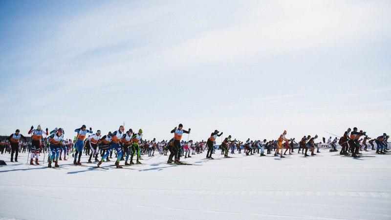 Практически 2000 человек приняли участие влыжном марафоне вЮгре