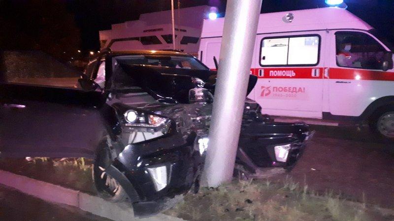 В Сургуте произошло спорное ДТП, в котором пострадал человек
