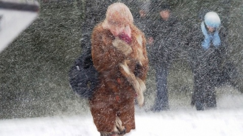 На Югру снова надвигается метель и мороз до -18 градусов