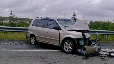 Столкнулись три автомобиля В результате аварии с участием трех автомобилей- «Тойоты»...