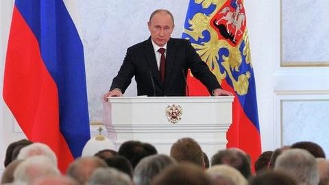 Послание президента России Федеральному Собранию  РИА Новости